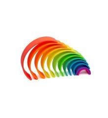 Dëna - Stor regnbue, Neon, 12 stk