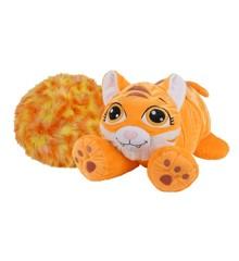 Rainbow Fluffies - Stor - Orange Tiger