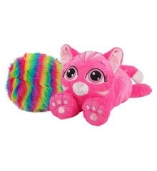 Rainbow Fluffies - Small - Pink Cat (3881)