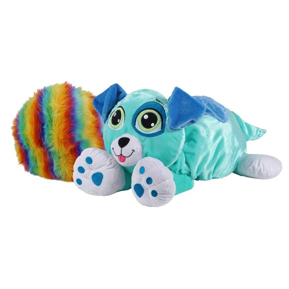 Rainbow Fluffies - Small - Blue Dog (3841)