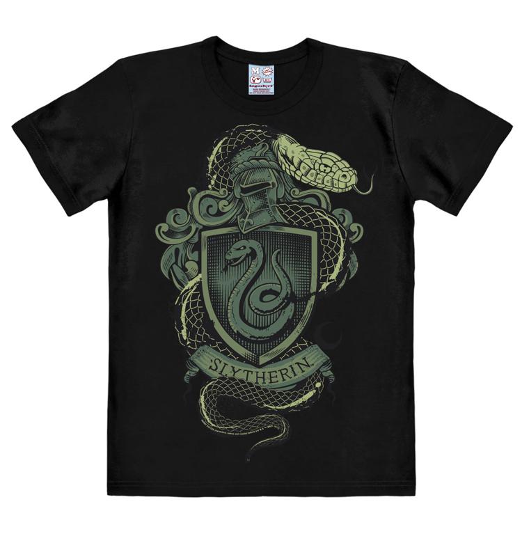 Harry Potter - Slytherin Snake - Easyfit - black - Original licensed product