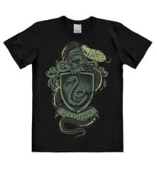 Harry Potter - Slytherin Snake - Easyfit - black - Original licensed product