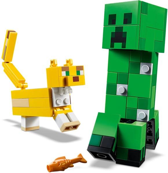 LEGO Minecraft - BigFig Creeper and Ocelot (21156)