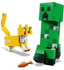 LEGO Minecraft - Stor Creeper-figur og Ocelot (21156)