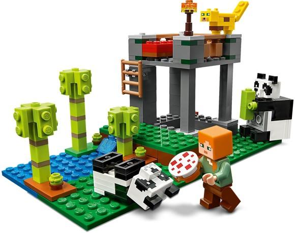 LEGO Minecraft - Pandabørnehaven (21158)