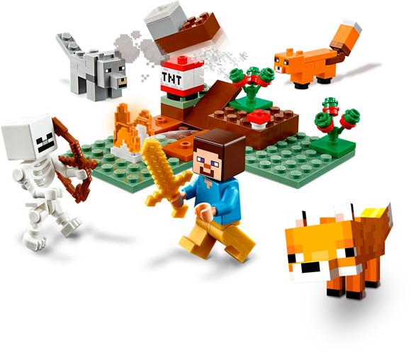 LEGO Minecraft - The Taiga Adventure (21162)