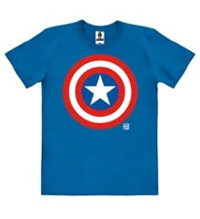 Marvel - Captain America - Shield - Easyfit Organic - blue - Original licensed product