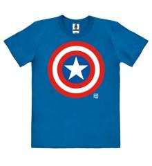 Marvel - Captain America - Shield - Easyfit Organic - blue - Original licensed product
