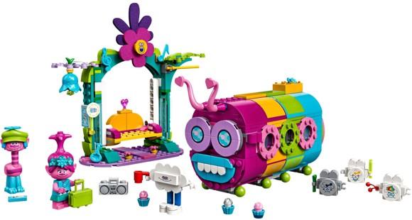 LEGO Trolls - Regnbuelarvebus (41256)