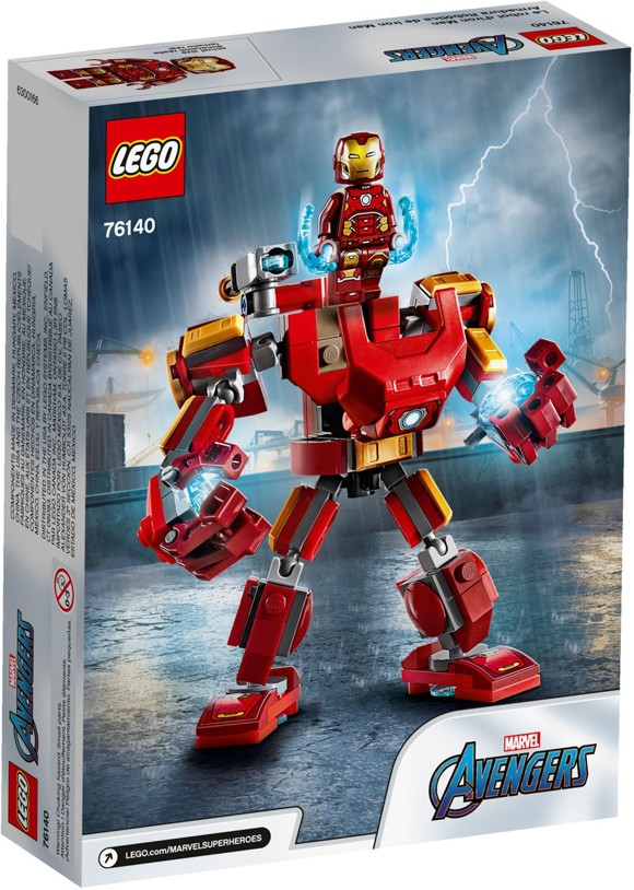 LEGO Super Heroes - Iron Man-robot (76140)