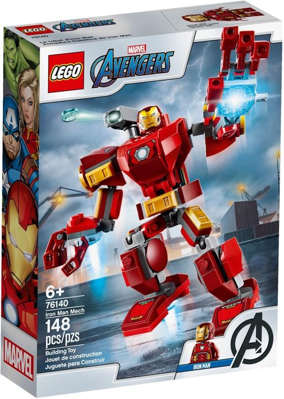 LEGO Super Heroes - Iron Man-robot (76140)