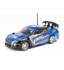 Tech Toys - Fjernstyret Bil - R/C PStcols 1:18 27Mhz - Blå
