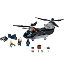 LEGO Super Heroes - Black Widows helikopterjagt (76162)