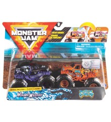 Monster Jam 1:64 2 Pack - Mohawk Warrior & Jester (20118613)