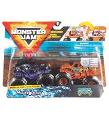 Monster Jam 1:64 2 Pakke - Mohawk Warrior & Jester