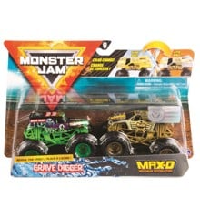 Monster Jam 1:64 2 Pack - Grave Digger & MAX-D (20118611)