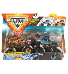 Monster Jam 1:64 2 Pakke - Horse Power & W