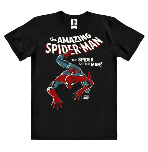 The Amazing Spider-Man - Easyfit Organic - black - Original licensed product