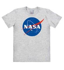 NASA - Logo - Easyfit - grey melange - Original licensed product