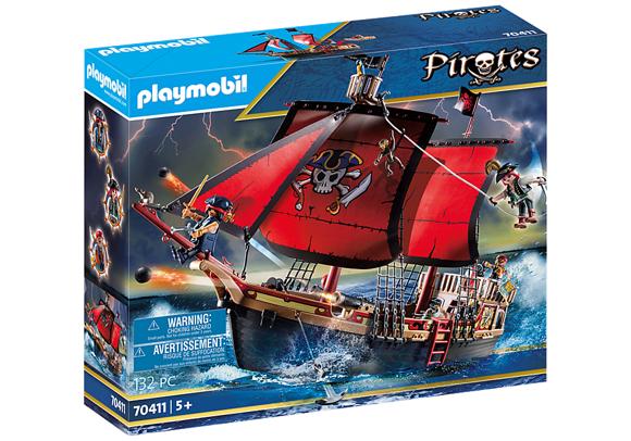 Playmobil - Dødningehoved Piratskib (70411)