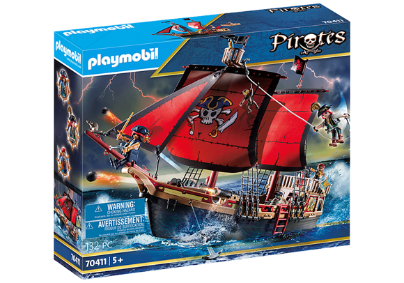Playmobil - Skull Pirate Ship (70411)