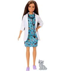 Barbie - Career Pet Vet Doll (GJL63)