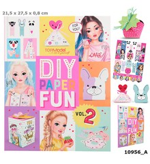 Top Model - DIY Paper Fun Bog