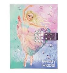 Top Model - Fantasy Model - Dagbog m/Kode og Musik - Ballet