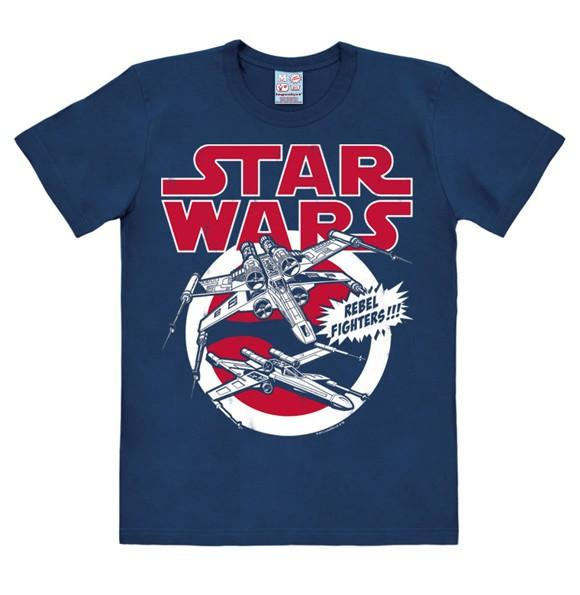 Star Wars - X-Wings - Easyfit - navy - Original licensed product