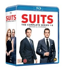 Suits Complete Series - Blu Ray