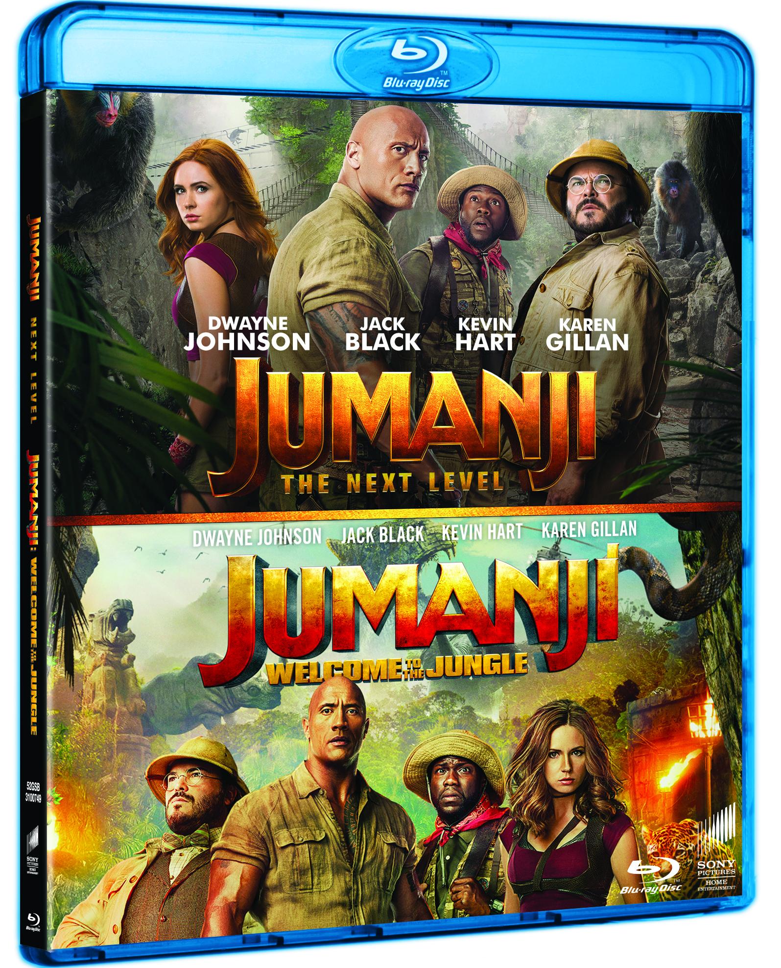 Jumanji 1-2 (2020) - Blu Ray