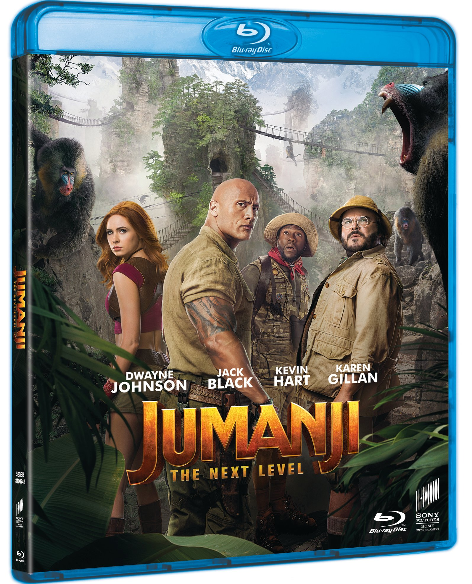 Jumanji: The Next Level - Blu Ray