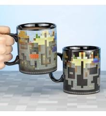 Minecraft Heat Change XL Mug - 550ml (PP6585MCF)