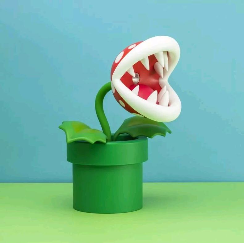 Nintendo Piranha Plant Posable Lamp (PP6348NN)