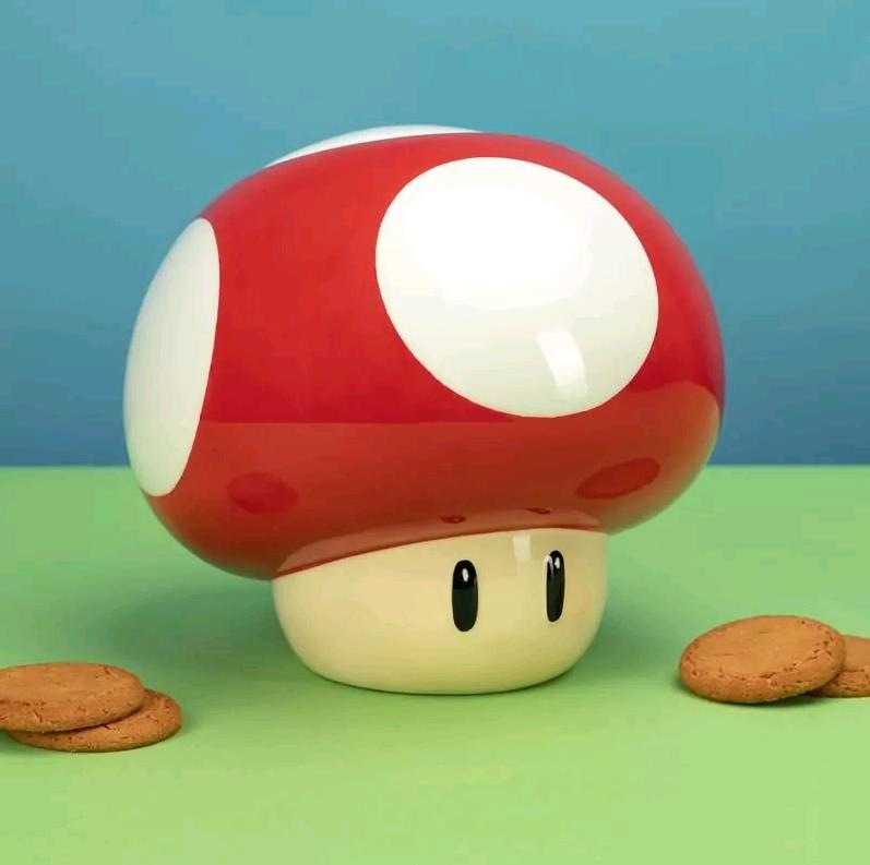 Nintendo - Super Mario Mushroom Cookie Jar (PP4904NN)