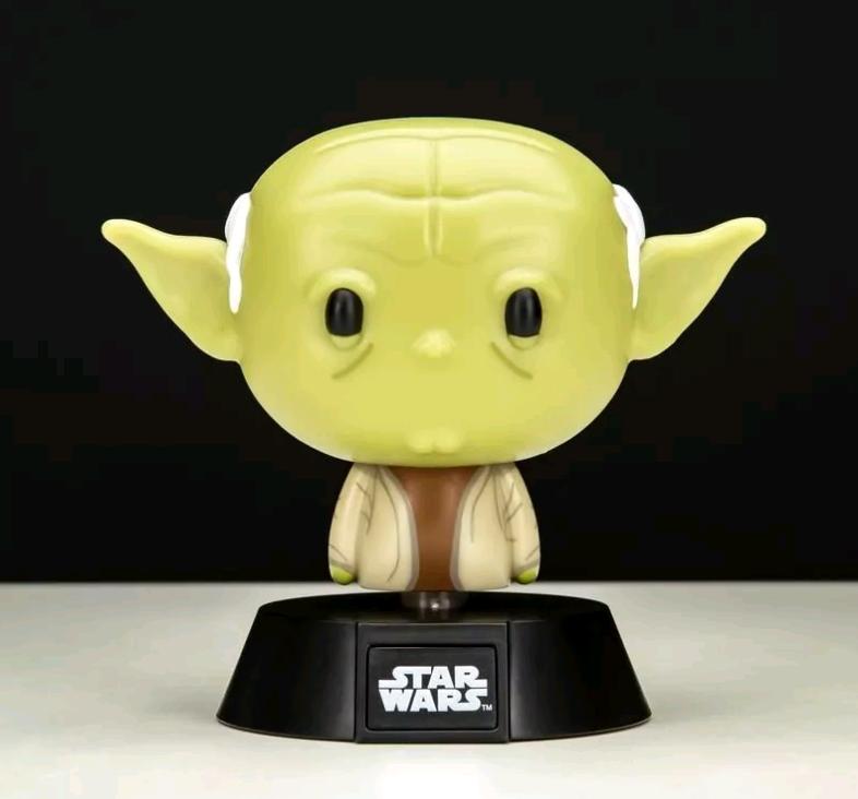 Star Wars - Yoda Icon Lampe