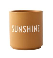 Design Letters - Favorit Kop - Sunshine