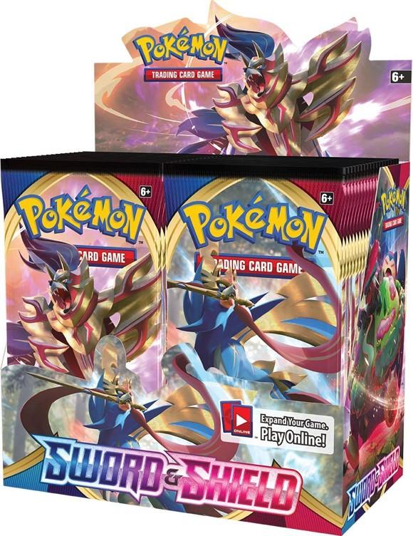 Pokemon - Sword & Shield - Booster Box (36 Booster Packs)