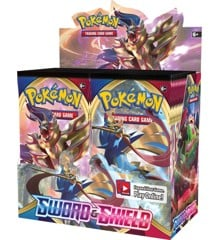 Pokemon - Sword & Shield - Booster Box (Pokemon Kort) (36 Booster Pakker)