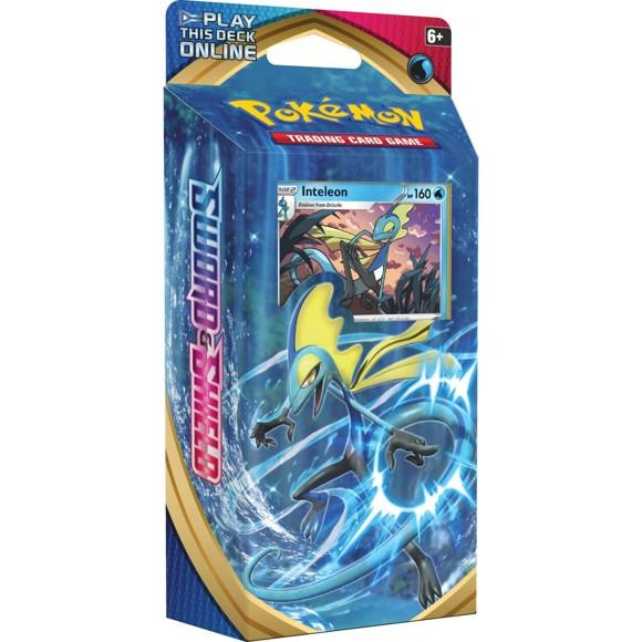 Pokemon - Sword & Shield - Theme Pack - Inteleon (Pokemon Kort)