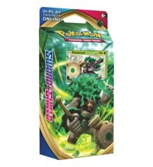 Pokemon - Sword & Shield - Theme Pack - Rillaboom (Pokemon Kort)