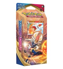 Pokemon - Sword & Shield - Theme Pack - Cinderace (Pokemon Kort)
