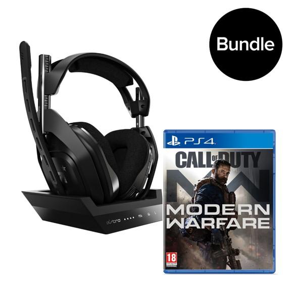 Astro - A50 Gen4 Wireless + Call Of Duty Modern Warfare Bundle