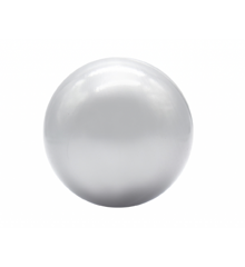 Kidkii - Jumbo Bolde 12 stk. - Sølv