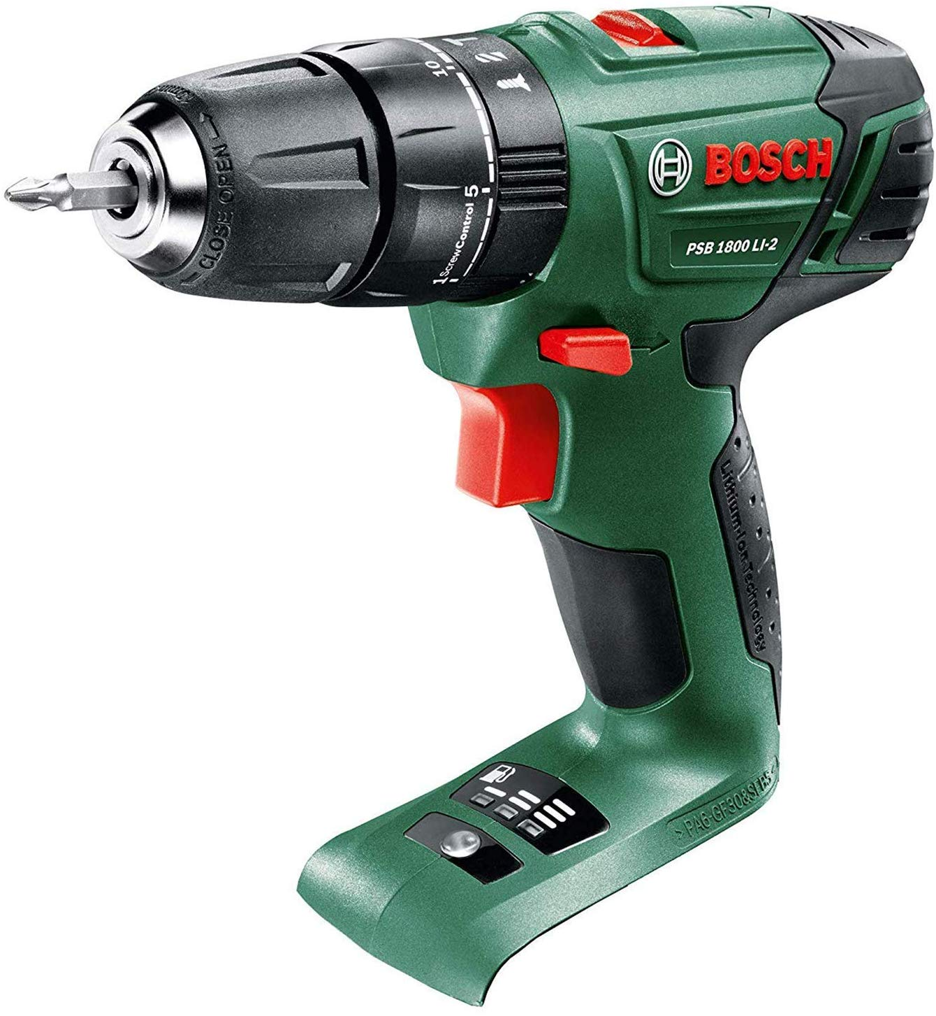 Bosch - Cordless Drill PSB 1800 LI-2 (Battery not included)