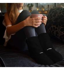 Hot Boots Deluxe - Mikroovnsfutter - Støvler - Sort