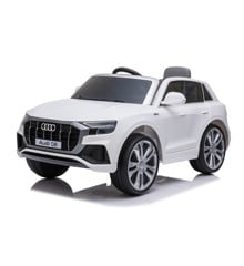 Azeno - Elktrisk Bil - Audi Q8 - Hvid