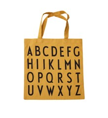 Design Letters - Farvorite Shoppingtaske - ABC Orange