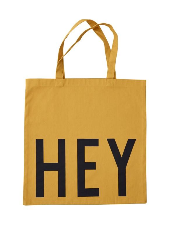 Design Letters - Farvorite Shoppingtaske - Hey Orange