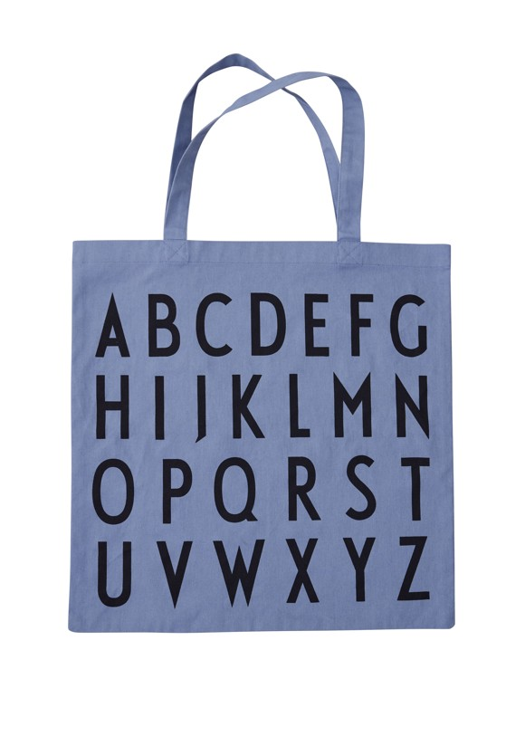 Design Letters - Farvorite Shoppingtaske - ABC Purple